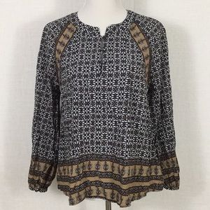 11.1.Tylho boho blouse - breezy and beautiful!